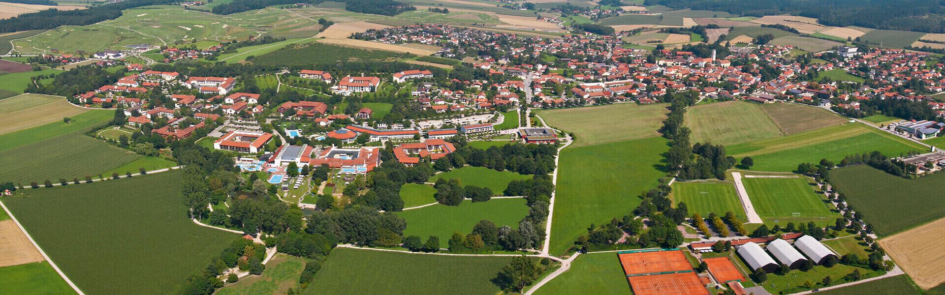 Bad Birnbach Luftaufnahme
